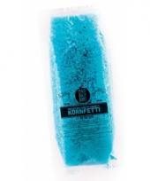 Blauwe bio confetti in water oplosbaar 10071264
