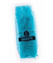 Blauwe bio confetti in water oplosbaar
