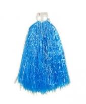 Blauwe cheerballs 33 cm