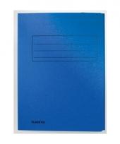Blauwe dossiermappen voor a4