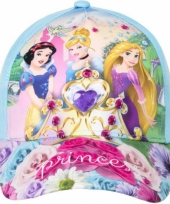 Blauwe kinderpet van disney princess