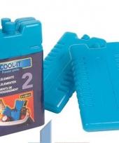 Blauwe koelelementen 220 cc
