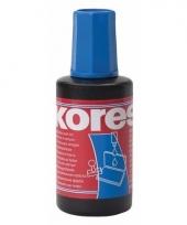 Blauwe stempelkussen inkt 27 ml