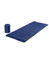 Blauwe warme slaapzak 185 cm