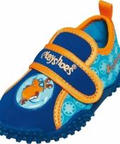 Blauwe waterschoenen voor kids