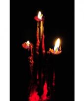 Bloed kaarsen 26 cm