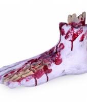 Bloederige halloween voeten