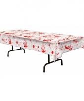 Bloederige tafelkleden 275 x 135 cm