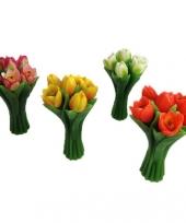 Bloemen drijfkaarsen 22 cm