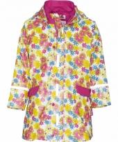 Bloemen regenjas voor meisjes