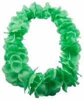 Bloemenkrans ketting groen