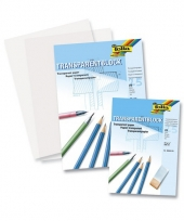 Blok transparant overschrijf papier a3