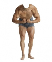 Body builder fotobord