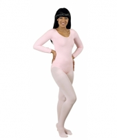 Bodystocking lichtroze
