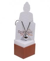 Boeddha kettinkje van metaal met belletje