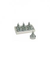 Boeddha lichtjes mint 6 stuks 5 cm