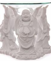 Boeddha oliebrander 11 cm