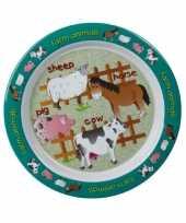 Boerderij lunchbordje voor kinderen