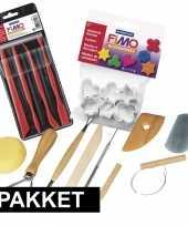 Boetseren met klei gereedschap pakket