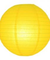 Bol lampion geel 25 cm