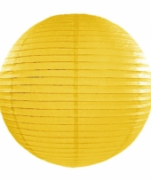Bol lampion geel 35 cm