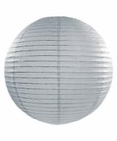 Bol lampion grijs 25 cm