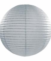 Bol lampion grijs 35 cm