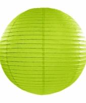 Bol lampion groen 35 cm