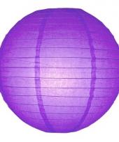 Bol lampion paars 25 cm