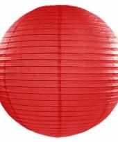 Bol lampion rood 50 cm