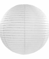 Bol lampion wit 35 cm