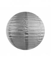 Bol lampion zilver 35 cm