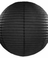 Bol lampion zwart 50 cm