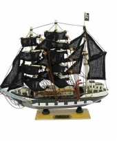 Boot decoratie piraat 24 cm