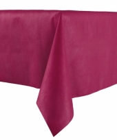 Bordeaux rode tafelkleden 140 x 240 cm