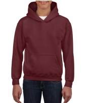 Bordeaux rode trui voor jongens