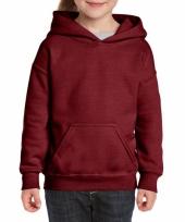 Bordeaux rode trui voor meiden