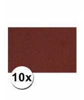 Bordeaux rood knutsel karton a4 10 stuks