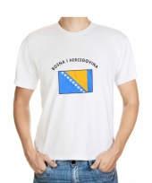 Bosnia and herzegovina vlaggen t-shirts