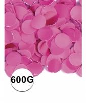 Brandvertragende confetti fuchsia 600 gram