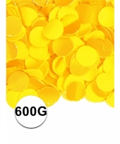 Brandvertragende confetti geel 600 gram