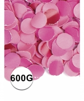 Brandvertragende confetti roze 600 gram