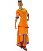 Braziliaanse jurk in holland kleuren