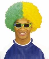 Braziliaanse supporters pruik