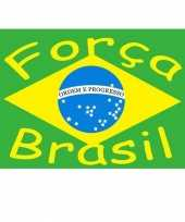 Braziliaanse supporters vlag