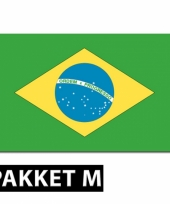 Brazilie decoratie pakket