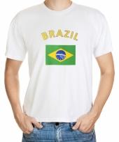 Brazilie vlaggen t-shirts