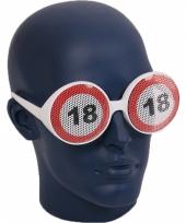 Bril 18 jaar verkeersbord