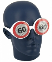 Bril 60 jaar verkeersbord