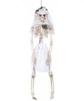 Bruid horror skelet 41 cm